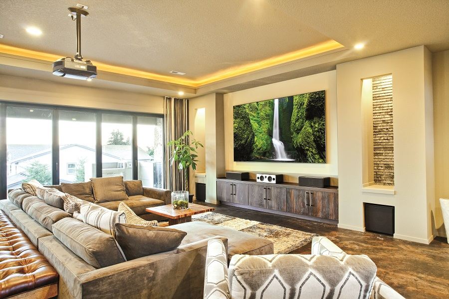 Creating an Immersive Viewing Experience in Your Family Room