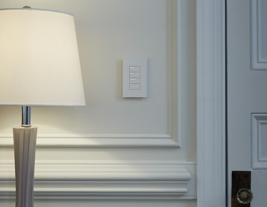 Give Your Walls A Clean, Bright Look with Lutron Lighting